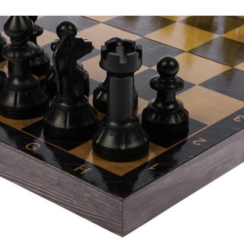 "Шахматы + домино + шашки ""Айвенго""40 см"