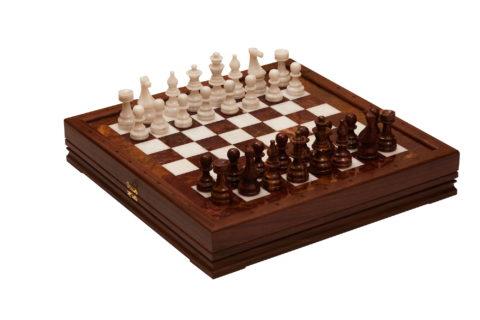 Шахматы каменные Европейские 34х34 см (2