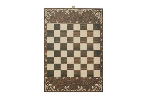 """Шахматы малые """"Галлы-Римляне"""" чернение Rovertime"""
