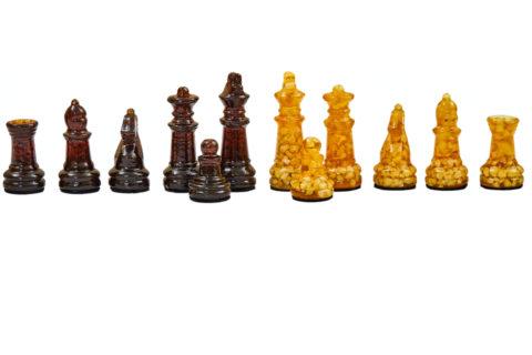 Шахматы мини для доски 25*25 yantar04