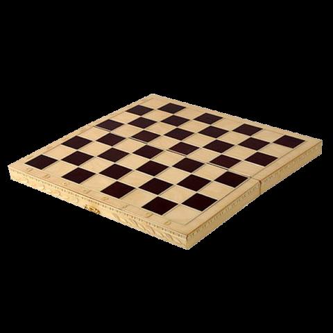 Шахматы обиходные инкрустированные (Орлов) Орловская ладья