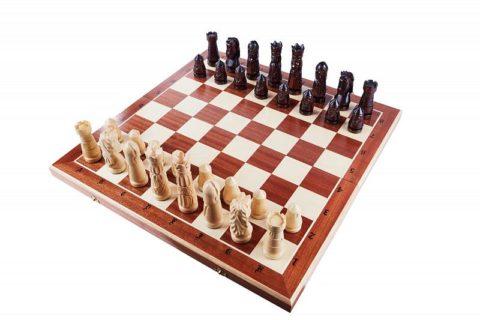 """Шахматы """"Большой Замок"""" большие"""