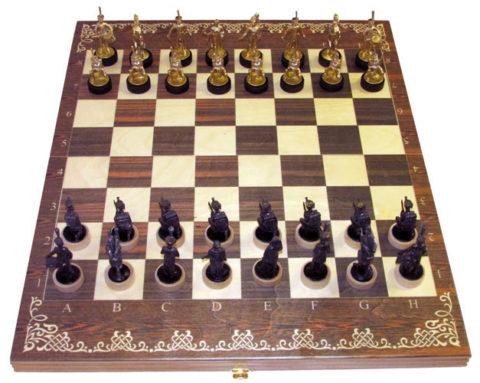 """Шахматы """"Бородинское Сражение"""" большие Rovertime"""