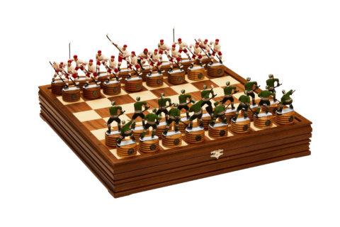 """Шахматы """"Хоккей"""" 47*47 мореный дуб RTS-58.Z"""