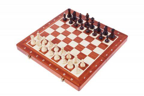 """Шахматы """"Магнитные 35"""" маркетри"""