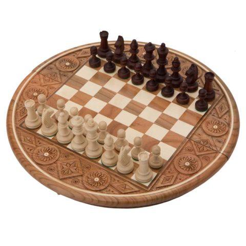 "Шахматы ""Рубин"" Темные"
