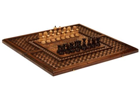 """Шахматы резные """"Гаянэ"""" 60"""