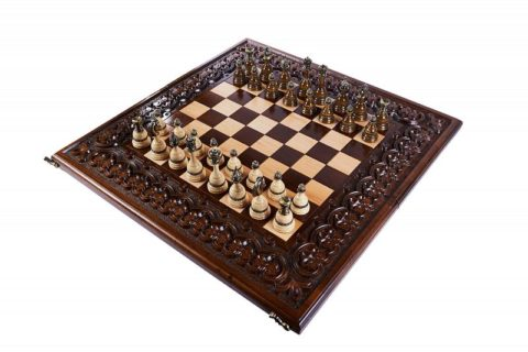 "Шахматы резные ""Королевские"" 60"