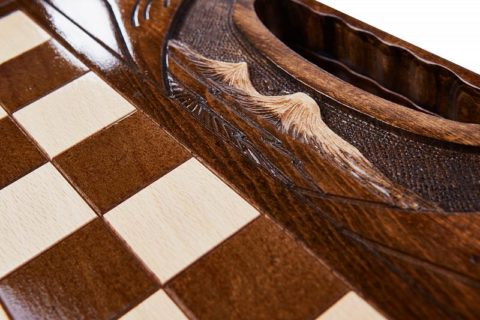 Шахматы резные с араратом