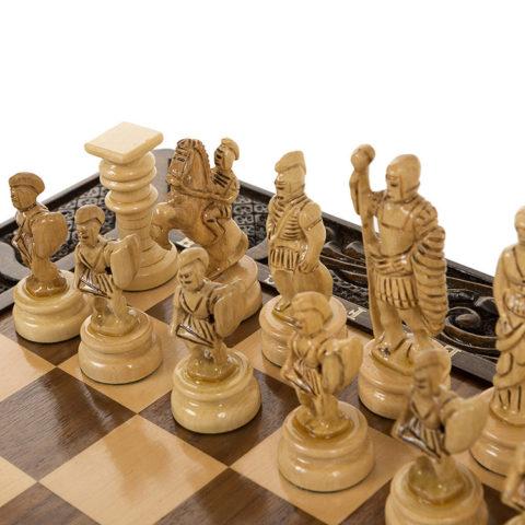 """Шахматы резные в ларце """"Атлант"""""""