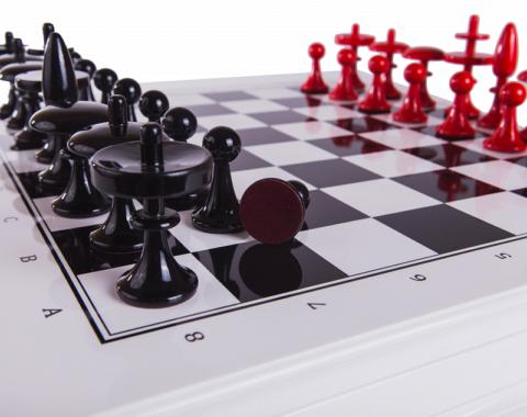 Шахматы Сенеж Леонардо WoodGames