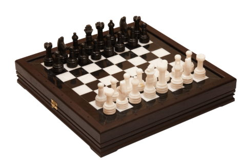 Шахматы стандартные каменные 41х41 см (3
