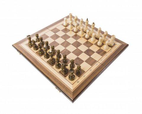 Шахматы Турнирные-1 инкрустация 40