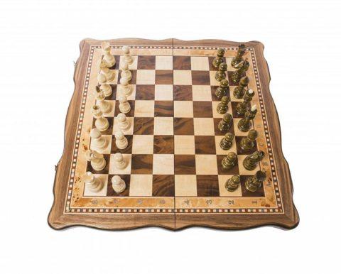 Шахматы Турнирные-3 инкрустация 40