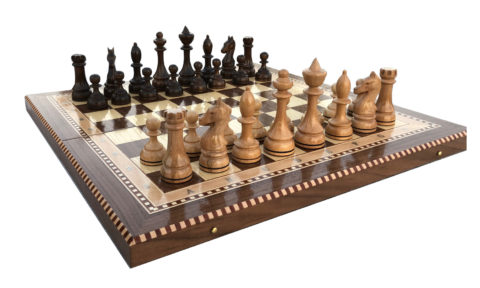 Шахматы Турнирные-4 инкрустация 50