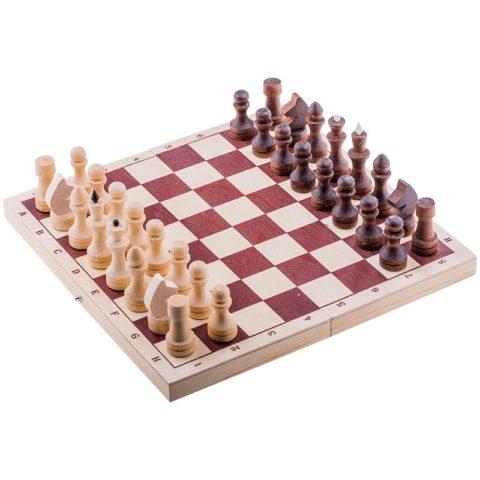 Шахматы турнирные парафинированные с доской Е-8