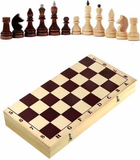 Шахматы турнирные в комплекте с доской (Орлов) Орловская ладья