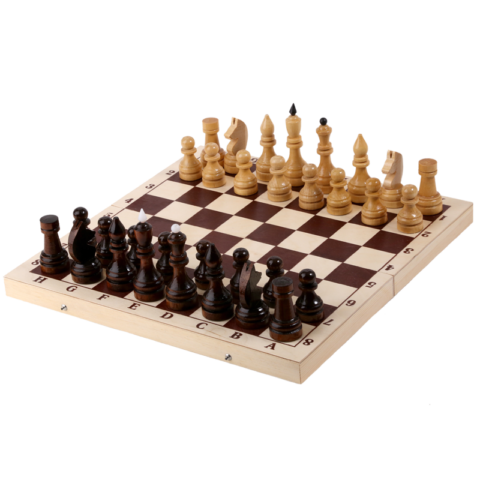 Шахматы турнирные в комплекте с доской (Орлов) Е-1