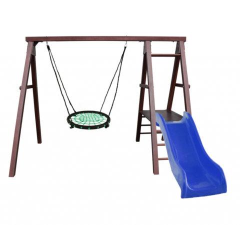 Kampfer Lucky Качели гнездо среднее спортивно игровой комплекс для детей на дачу