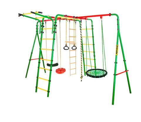 Kampfer Wunder Качели гнездо малое зеленое спортивно игровой комплекс для детей на дачу