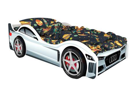 Ауди - кровать-машинка. Серия Классик производитель КарлСон 24