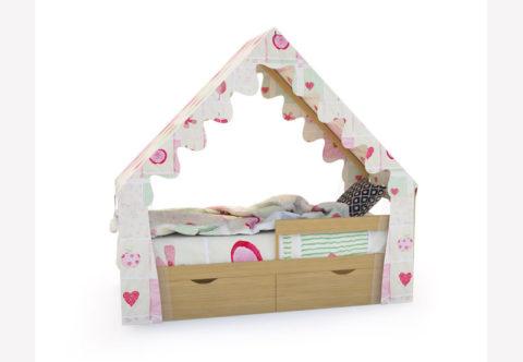 "Кровать-домик ""SCANDI"" дерево - кровать-машинка. Кровати-домики ""SCANDI"" производитель КарлСон 24"