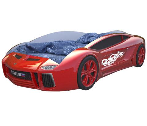 Ламба Next Красная - кровать-машинка. Серия Ламба Next производитель КарлСон 24