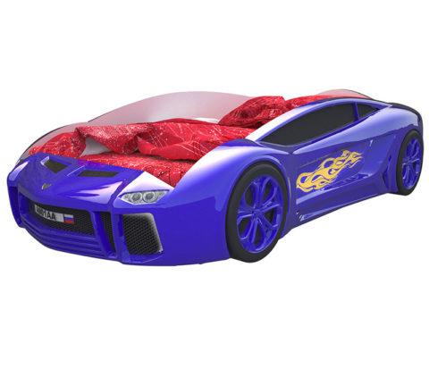Ламба Next Синяя - кровать-машинка. Серия Ламба Next производитель КарлСон 24