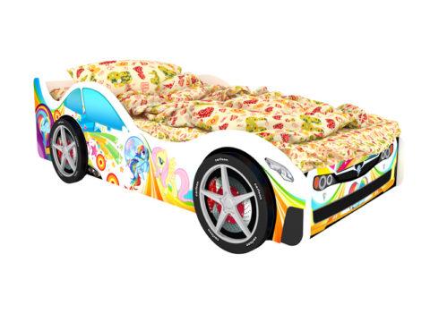 Монако - кровать-машинка. Серия Город производитель КарлСон 24