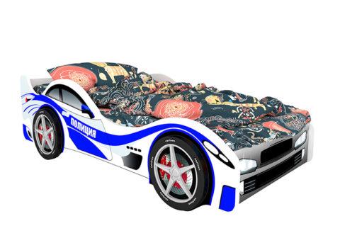 Полиция - кровать-машинка. Серия Классик производитель КарлСон 24