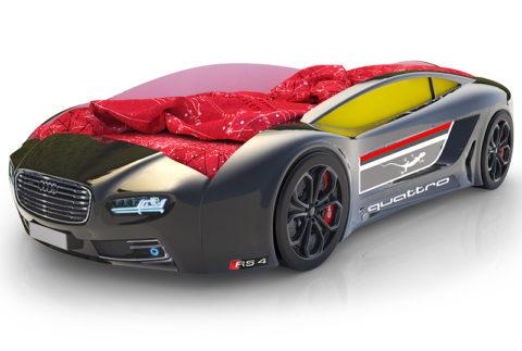 Roadster Ауди черный - кровать-машинка. Серия Roadster производитель КарлСон 24