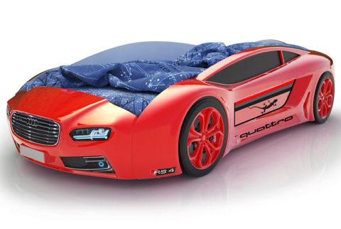 Roadster БМВ красный - кровать-машинка. Серия Roadster производитель КарлСон 24