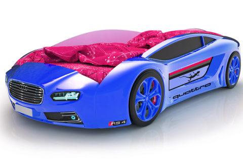 Roadster Ауди синий - кровать-машинка. Серия Roadster производитель КарлСон 24