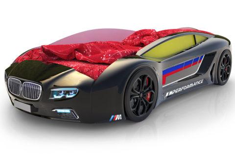 Roadster БМВ Черный - кровать-машинка. Серия Roadster производитель КарлСон 24