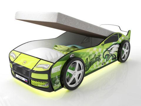 Турбо Гудзон с подъемным матрасом - кровать-машинка. Серия Турбо с подъемным механизмом производитель КарлСон 24