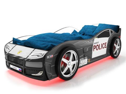 Турбо Полиция 2 - кровать-машинка. Серия Турбо производитель КарлСон 24