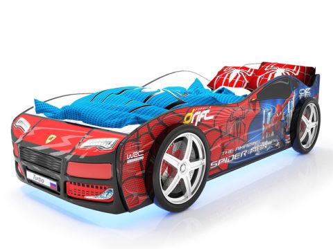 Турбо Спайдер - кровать-машинка. Серия Турбо производитель КарлСон 24